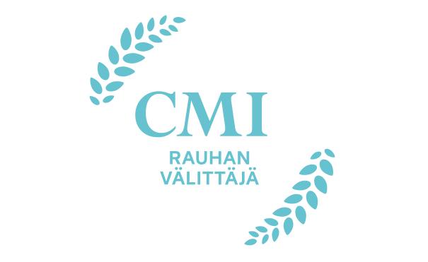 CMI Logo - Rauhan välittäjä